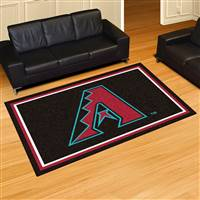 "Arizona Diamondbacks 5x8 Area Rug 60""x92"""
