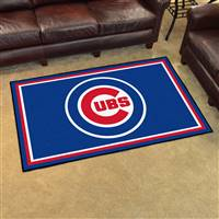 "Chicago Cubs 4x6 Area Rug 46""x72"""