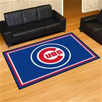 "Chicago Cubs 5x8 Area Rug 60""x92"""