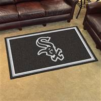 "Chicago White Sox 4x6 Area Rug 46""x72"""