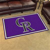 "Colorado Rockies 4x6 Area Rug 46""x72"""