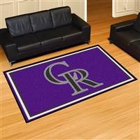 "Colorado Rockies 5x8 Area Rug 60""x92"""