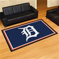 "Detroit Tigers 5x8 Area Rug 60""x92"""
