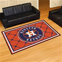 "Houston Astros 5x8 Area Rug 60""x92"""