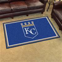 "Kansas City Royals 4x6 Area Rug 46""x72"""