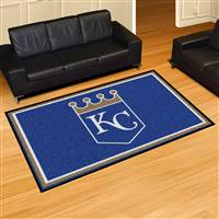 "Kansas City Royals 5x8 Area Rug 60""x92"""