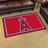 "Los Angeles Anaheim Angels 4x6 Area Rug 46""x72"""