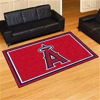 "Los Angeles Anaheim Angels 5x8 Area Rug 60""x92"""