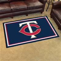 "Minnesota Twins 4x6 Area Rug 46""x72"""