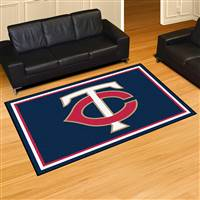 "Minnesota Twins 5x8 Area Rug 60""x92"""