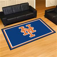 "New York Mets 5x8 Area Rug 60""x92"""