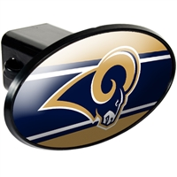 St. Louis Rams Trailer Hitch Cover