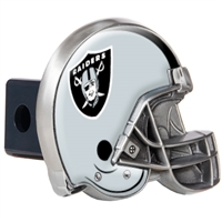 Oakland Raiders Metal Helmet Trailer Hitch Cover