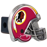 Washington Redskins Metal Helmet Trailer Hitch Cover