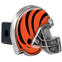 Cincinnati Bengals Metal Helmet Trailer Hitch Cover