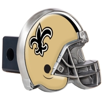 New Orleans Saints Metal Helmet Trailer Hitch Cover