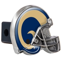 St. Louis Rams Metal Helmet Trailer Hitch Cover