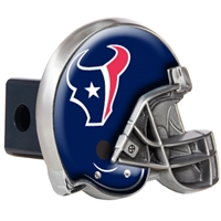 Houston Texans Metal Helmet Trailer Hitch Cover