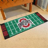 "Ohio State Buckeyes Football Field Runner Mat 30""x72"""