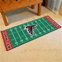 "NFL - Atlanta Falcons Football Field Runner 30""x72"""