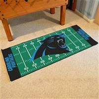 "Carolina Panthers Runner Mat 30""x72"""
