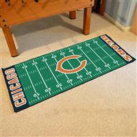 "NFL - Chicago Bears Football Field Runner 30""x72"""