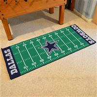 "Dallas Cowboys Runner Mat 30""x72"""