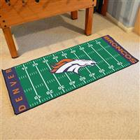 "NFL - Denver Broncos Football Field Runner 30""x72"""