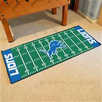 "NFL - Detroit Lions Football Field Runner 30""x72"""