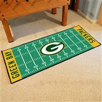 "Green Bay Packers Runner Mat 30""x72"""