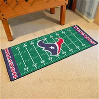 "Houston Texans Runner Mat 30""x72"""
