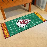 "Kansas City Chiefs Runner Mat 30""x72"""