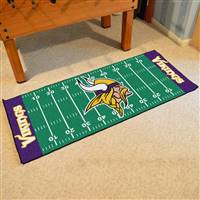 "NFL - Minnesota Vikings Football Field Runner 30""x72"""