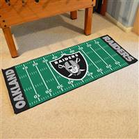 "Oakland Raiders Runner Mat 30""x72"""