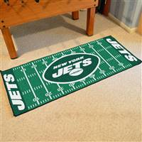 "New York Jets Runner Mat 30""x72"""