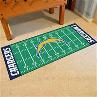 "San Diego Chargers Runner Mat 30""x72"""