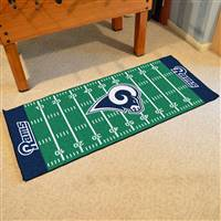 "St Louis Rams Runner Mat 30""x72"""