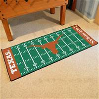 "Texas Longhorns Football Field Runner Mat 30""x72"""