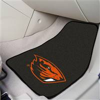 "Oregon State Beavers 2-piece Carpeted Car Mats 18""x27"""