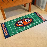 "Auburn Tigers Football Field Runner Mat 30""x72"""