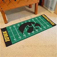 "Iowa Hawkeyes Football Field Runner Mat 30""x72"""