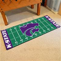 "Kansas State Wildcats Football Field Runner Mat 30""x72"""