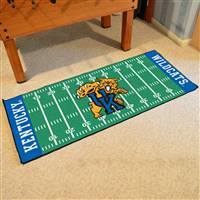 "Kentucky Wildcats Football Field Runner Mat 30""x72"""