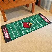 "University of Louisville Football Field Runner 30""x72"""