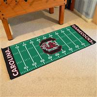 "South Carolina Gamecocks Football Field Runner Mat 30""x72"""