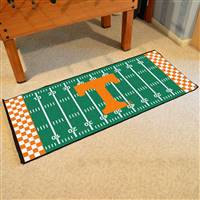 "Tennessee Volunteers Football Field Runner Mat 30""x72"""
