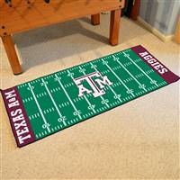"Texas A&M University Football Field Runner 30""x72"""