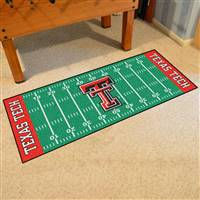 "Texas Tech University Football Field Runner 30""x72"""