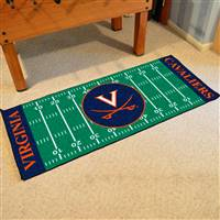 "Virginia Cavaliers Football Field Runner Mat 30""x72"""
