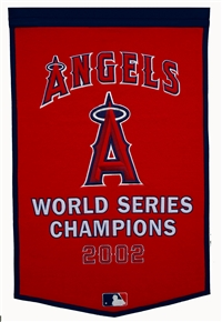 Los Angeles Angeles of Anaheim Large Dynasty Wool Banner